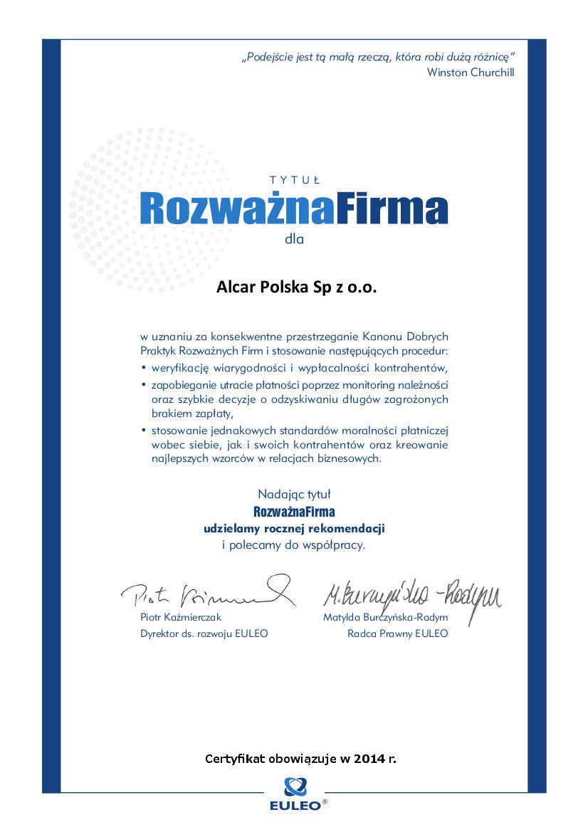 Alcar Polska Sp. z o.o.